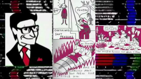 La Vilaine Lulu de Anonymous, BD sataniste d'Yves St Laurent