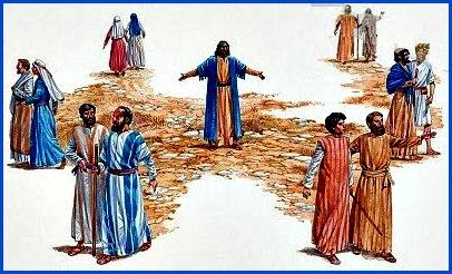 O BANQUETE DA PALAVRA: Momento do envio dos discípulos