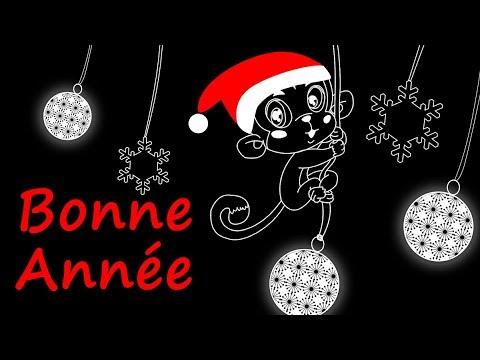 CARTE DE VŒUX 2020 - BONNE ANNÉE 2020 ANIMAUX - YouTube