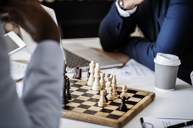 Free photo Chess Queen Gameplan Black And White Pawn ...