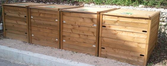 Les composteurs bois - 39 - Jura