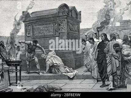 Antiquite romaine : la mort de Marcus Manlius Capitolinus ...