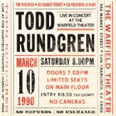Live at the Warfield Theater, San Francisco: March 10th 1990 (Live)