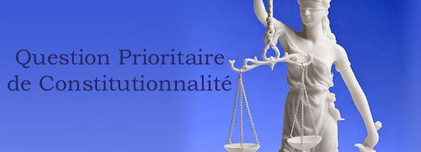 La question prioritaire de constitutionnalité - Blog ...