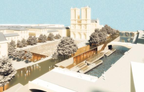 Un projet spectaculaire pour le coeur de Paris en 2040, ça ...