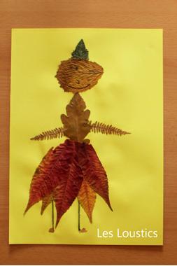 Collages d'automne - Les Loustics