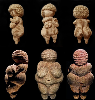 The Willendorf Venus - crochet pattern