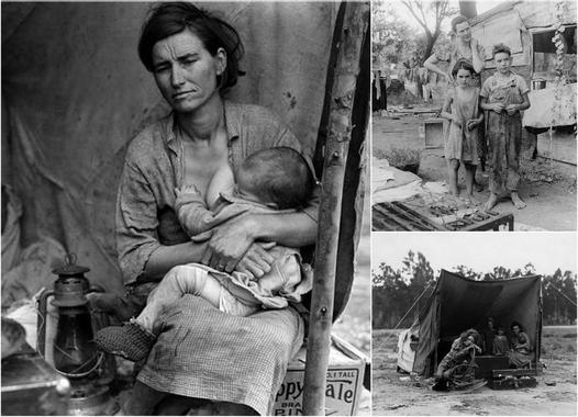 """Le Pictographe: Dorothea Lange """"photographe du peuple"""""""