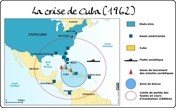 La crise de Cuba | L'atelier carto d'HG Sempai