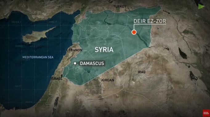 Syrië dicht bij herovering Deir ez-Zor - Geotrendlines