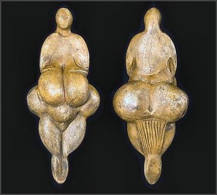 Venus de Lespugue This 6-inch high sculpture of tusk ivory ...