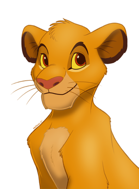 Simba by Pinkuh on DeviantArt