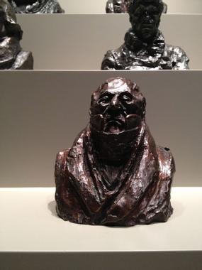 Daumier sculptural caricature from the Art Institute of ...
