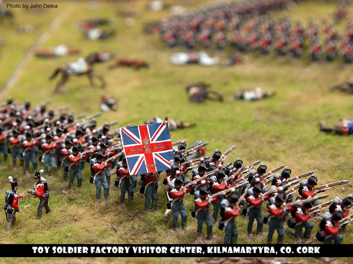 Battle of Waterloo Exhibit | Toy Soldier Factory