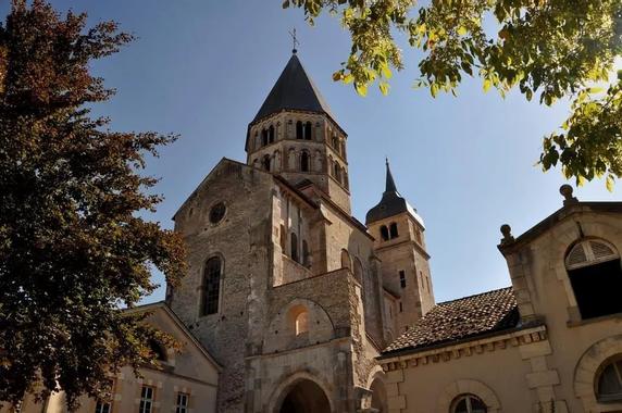 Abbaye de Cluny à Cluny
