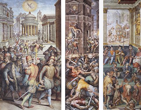 File:Vasari - Massacre de la Saint-Barthélémy. Assassinat ...
