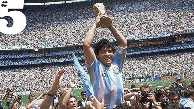 Rio on Diego Maradona | #5 Heroes - YouTube