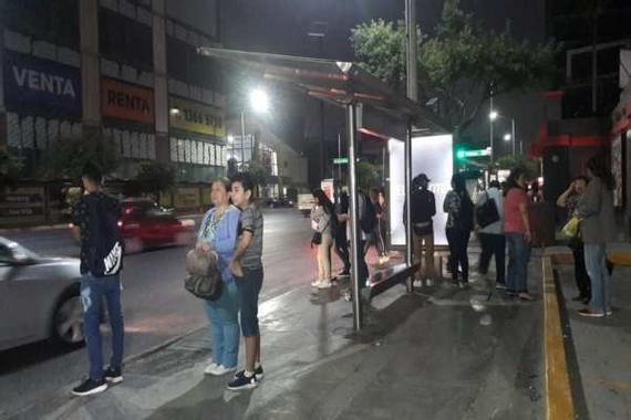 Paro de transporte público genera caos en municipios de ...