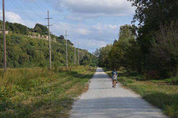 Biking the KATY Trail