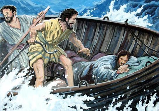 Jésus apaise la tempête - Le Blog de Jackie