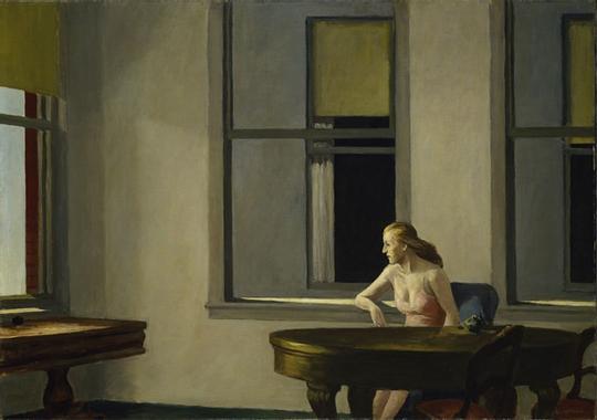 City sunlight de Edward Hopper