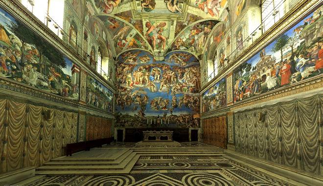 Les Louettes: Chapelle Sixtine en 360 degré