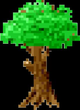 Clipart - Pixel Tree