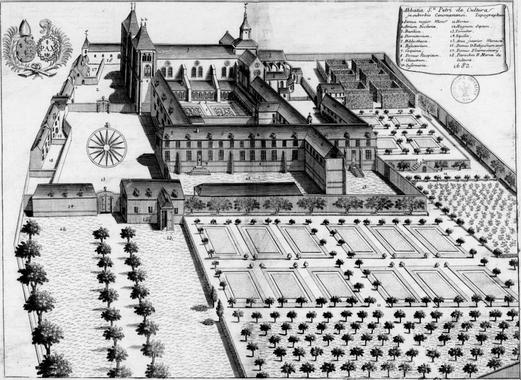 Saint-Pierre de La Couture - Monasterios