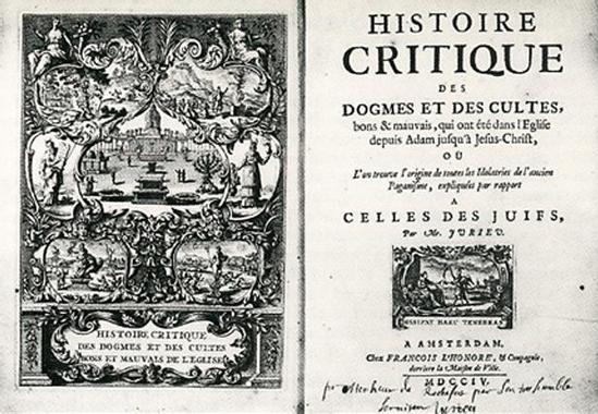 Pierre Jurieu (1637-1713) | Musée virtuel du Protestantisme