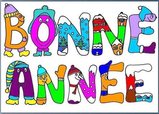 Banderole BONNE ANNEE - Le tour de mes idées