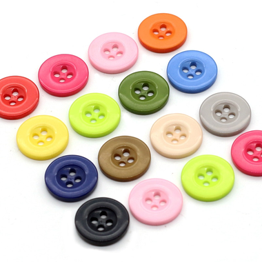 20 100PCS Round Resin Tiny Buttons Sewing Tools Decorative ...