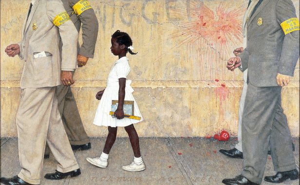 Norman Rockwell: The Problem We All Live With | Abagond