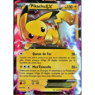 Pikachu ex 130 pv xy 84