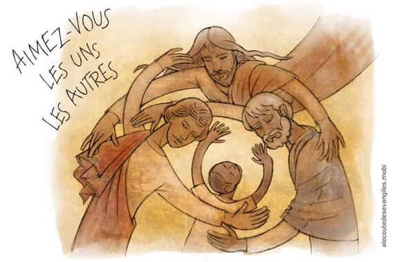« Aimez-vous les uns les autres » (Jn 15, 1-8) | À l ...