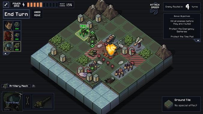 Tous les mouvements des adversaires sont affichés avant que le player fasse son choix