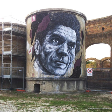 Frederico Draw in Rome: a tribute to Pier Paolo Pasolini