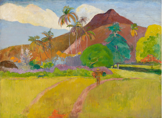 Paul_Gauguin_-_Tahitian_Landscape_-_Goog
