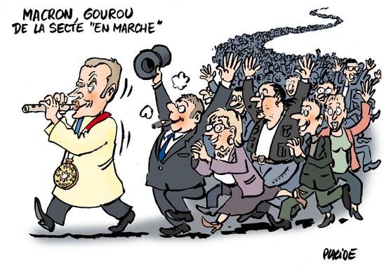 Humour - Le candidat Macron fait le plein - 12 Décembre ...