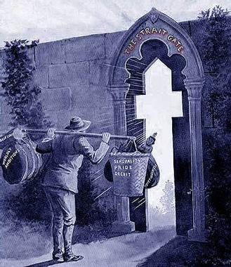 La porte étroite