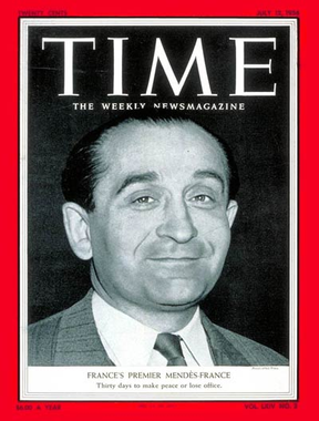 TIME Magazine Cover: Pierre Mendes-France - July 12, 1954 ...