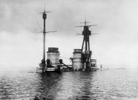 Sabordage de la flotte allemande à Scapa Flow - Blog de ...
