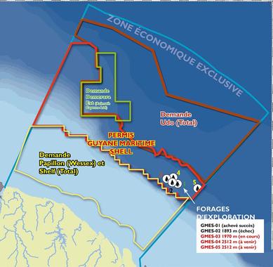 Pétrole : les multinationales se partagent l'océan de ...