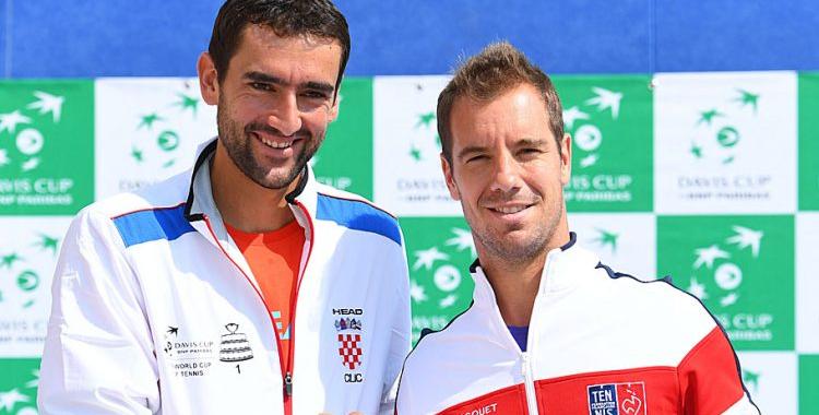Tennis - Coupe Davis - Croatie-France : Revivez Cilic ...