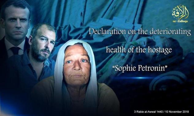 L'Urgence pour Sophie Pétronin, otage au Sahel… Ph Rochot ...