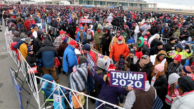 Trump rally in Wildwood: Pictures, videos show what it ...