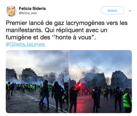 EN DIRECT - Gilets Jaunes: Des casseurs sont en train de ...