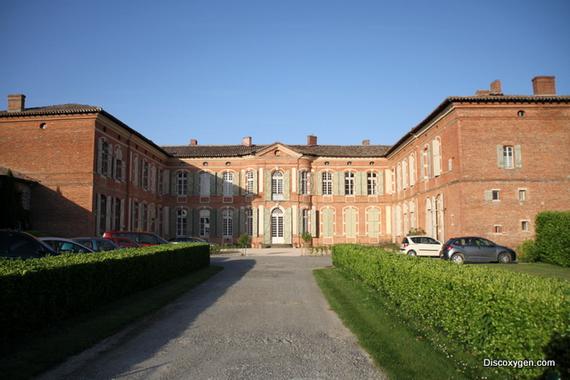Salle du château de Merville près de Toulouse