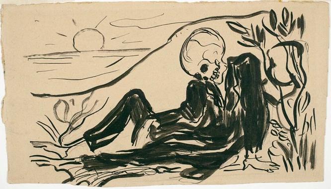Le Mort joyeux - Edvard Munch Memento mori et autres ...