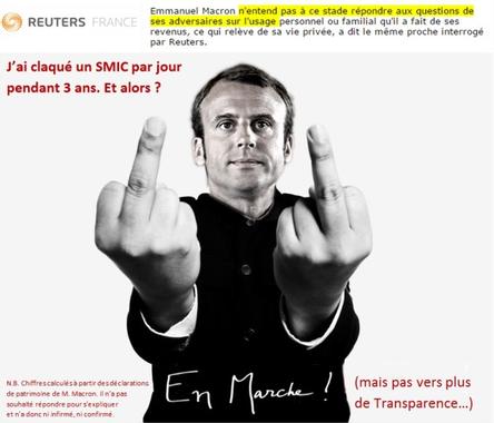 L'imposture Macron – Lou Roumegaire