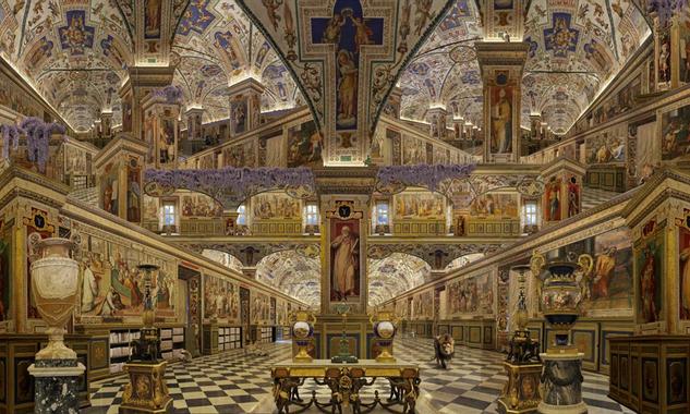 Bibliothèque du Vatican, Rome | Les plus belles bib du monde